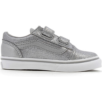 Chaussures Fille Baskets basses Vans TD Old Skool V Frost Grey