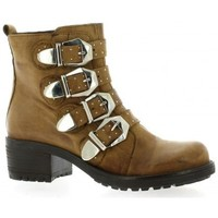Chaussures Femme Boots Pao Boots cuir nubuck Cognac