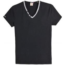 Vêtements Homme T-shirts manches courtes Japan Rags T-Shirt  Kauri noir (sp)