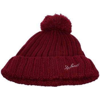 Accessoires textile Homme Bonnets Schott Bonnet homme  ref_jaj41819 rouge rouge