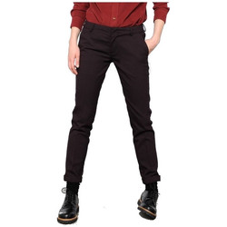 Vêtements Femme Pantalons Reiko LIZZY WINE OREO / Bordeaux