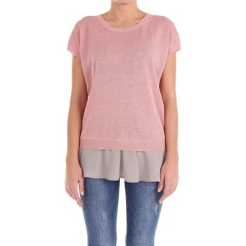 Vêtements Femme Tops / Blouses Peserico S88005F12 Pull-over Femme Vieux rose Vieux rose
