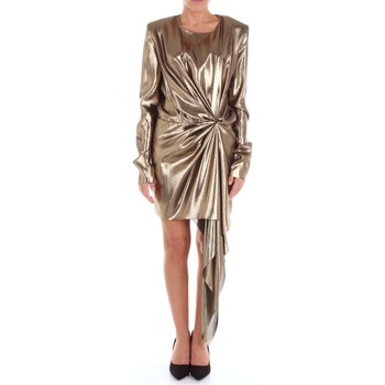 Vêtements Femme Robes longues Saint Laurent 467560Y205Q Robe Femme d'or d'or