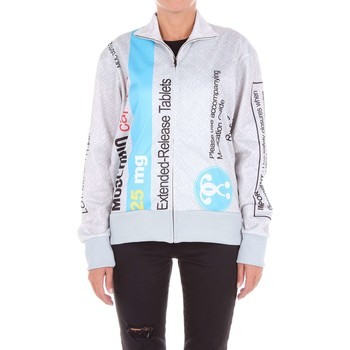Vêtements Femme Sweats Moschino Couture SS17A17014128 sweat-shirt Femme Gris et bleu Gris et bleu