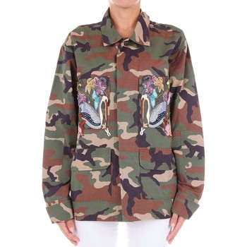 Vêtements Femme Pulls Forte Couture FCSS1774 Pull-over Femme Vert militaire Vert militaire