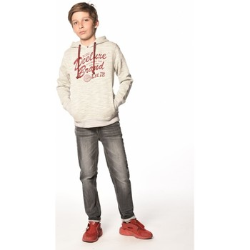 Vêtements Garçon Sweats Deeluxe Sweat à capuche Whalley beige
