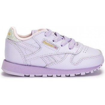 Chaussures Enfant Baskets basses Reebok Sport Classic Leather Metallic lavande - baskets bébé violet