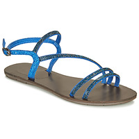 Chaussures Femme Sandales et Nu-pieds Les Petites Bombes NELLY Bleu