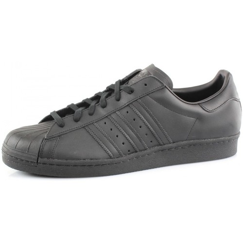 Chaussures Homme Baskets basses adidas Originals SUPERSTAR 80S Noir