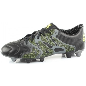 Chaussures Homme Football adidas Performance X 15.1 FG/AG LEATHER Noir