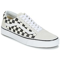 vans old skool blanche trait noir