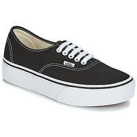 Chaussures Femme Baskets basses Vans AUTHENTIC Noir