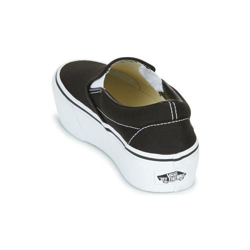 Noir Femme Chaussures Vans on Slip Ons Platform Slip yvb6Y7fg