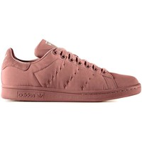 Chaussures Femme Baskets basses adidas Originals STAN SMITH W ROSA NATURAL Rose