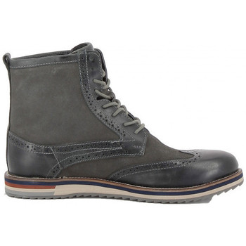 Chaussures Homme Boots Kickers Bottine  Modeste Buff Waxy - Ref. 589730-60-12 Gris