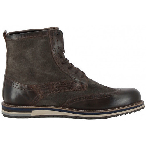 Chaussures Homme Boots Kickers Bottine  Modeste Buff Waxy - Ref. 589730-60-9 Marron