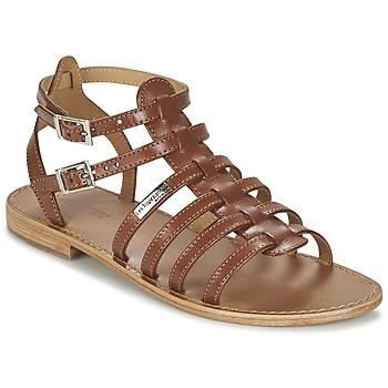 Chaussures Femme Sandales et Nu-pieds Les Tropéziennes par M Belarbi HIC Tan