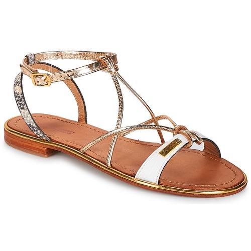 Les Tropéziennes par M Belarbi HIRONDEL Blanc - Livraison Gratuite avec  - Chaussures Sandale Femme