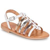 Chaussures Fille Sandales et Nu-pieds Les Tropéziennes par M Belarbi MONGUE Blanc