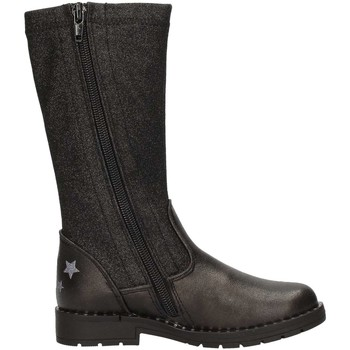 Boots Asso 60206 bottines enfant noir