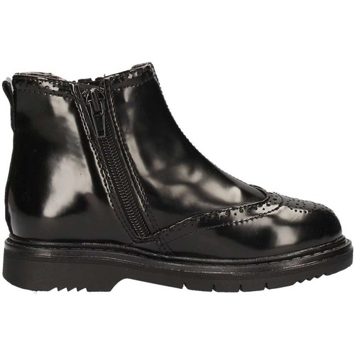 Chaussures Fille Low boots Asso 59860 Noir