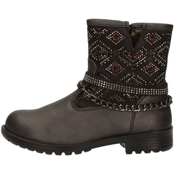Boots Asso 58113 bottines enfant noir