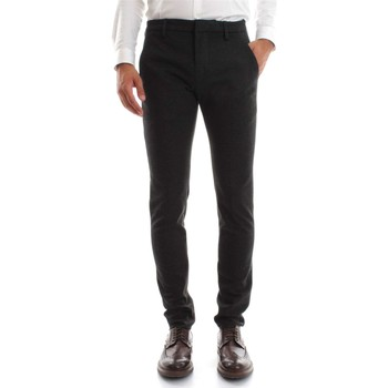 Vêtements Homme Chinos / Carrots Dondup GAUBERT UP235 PANTALON Homme Antracite Antracite