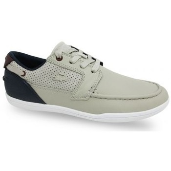 Lacoste 733CAM1064 CAM Sneaker Homme Beige Beige - Chaussures Baskets basses Homme