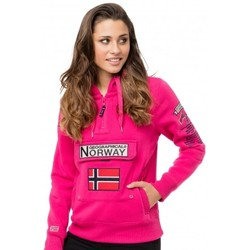 Vêtements Femme Sweats Geographical Norway Sweat Géographical norway  Gymclass Wn Rose Rose