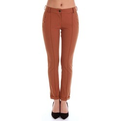 Vêtements Femme Chinos / Carrots Alysi 107103P7019 pull-over Femme Rouille Rouille