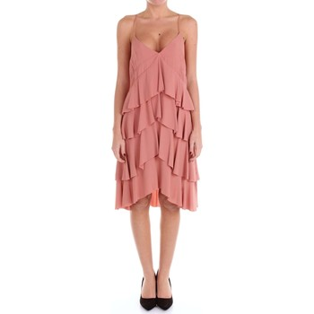 Vêtements Femme Robes longues Erika Cavallini E7EE7EL00 Robe Femme Rose antique Rose antique