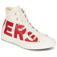 Chaussures Baskets montantes Converse CHUCK TAYLOR ALL STAR HI CONVERSE WORDMARK Blanc