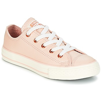 Chaussures Fille Baskets basses Converse CHUCK TAYLOR ALL STAR OX FASHION LEATHER Orange clair