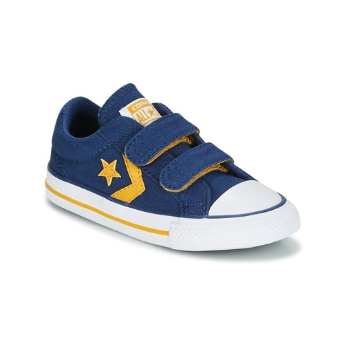 Baskets Star Canvas Basses Garçon Bleu 2v Converse Ev Ox Sport Chaussures Player 0Nwm8n