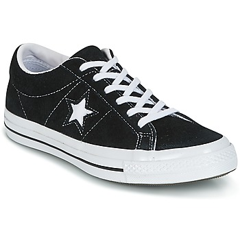 Chaussures Baskets basses Converse ONE STAR OX Noir / Blanc
