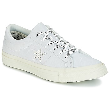 Chaussures Femme Baskets basses Converse ONE STAR-OX Blanc / Noir