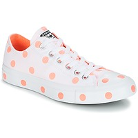 Chaussures Femme Baskets basses Converse CHUCK TAYLOR ALL STAR-OX Blanc / Orange