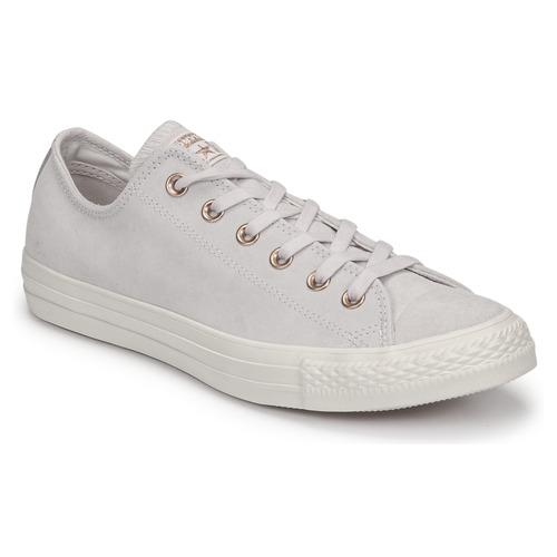 13545352d3d89 Chaussures Femme Baskets basses Converse CHUCK TAYLOR ALL STAR-OX Rose    Blanc