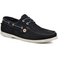 Chaussures Homme Baskets mode Faguo LARCH SUEDE Bleu Marine