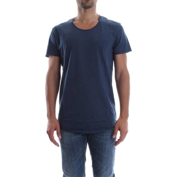 Vêtements Homme T-shirts manches courtes Jack & Jones 12115979 BAS TEE T-SHIRT Homme DENIM DARK BLUE DENIM DARK BLUE