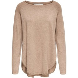 Vêtements Femme Pulls Only onlNEW COSE L/S PULLOVER KNT Beige