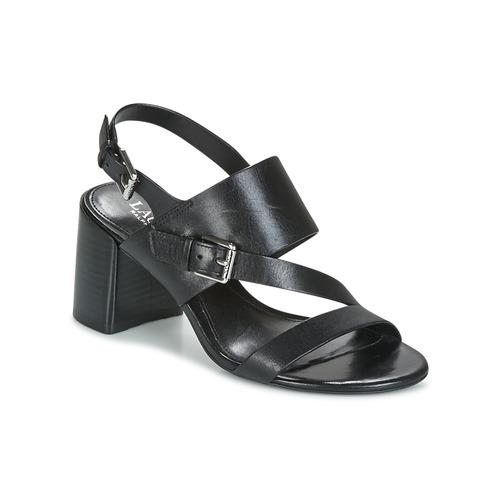 Chaussures Femme Sandales et Nu-pieds Lauren Ralph Lauren FLORIN Noir