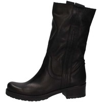 Chaussures Femme Bottes ville Bage Made In Italy 140 NERO PELLE Noir