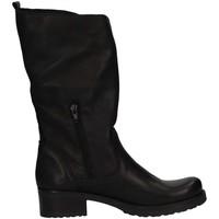 Chaussures Femme Bottes ville Bage Made In Italy 142 NERO PELLE Biker Femme Noir Noir