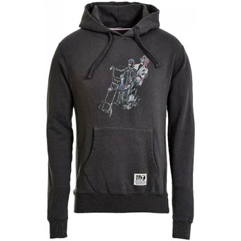 Vêtements Garçon Sweats Hero Seven - Sweat à capuche en molleton gris raven ado garçon Gris