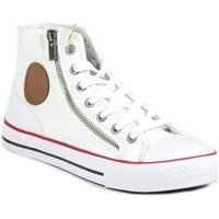 Chaussures Homme Baskets montantes Big Star T174083 Blanc