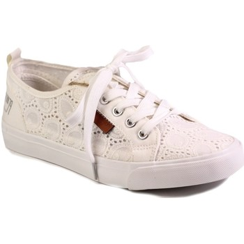 Chaussures Femme Baskets basses Big Star W274925 Blanc