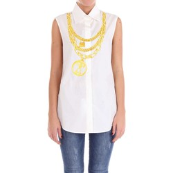 Vêtements Femme Tops / Blouses Moschino Couture 02120435 Chemise Femme Blanc Blanc