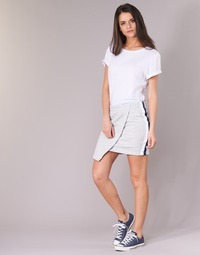 Vêtements Femme Jupes Converse CONVERSE STAR CHEVRON TRACK SKIRT Gris