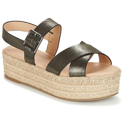 MTNG VATIXIO Noir - Livraison Gratuite avec  - Chaussures Sandale Femme